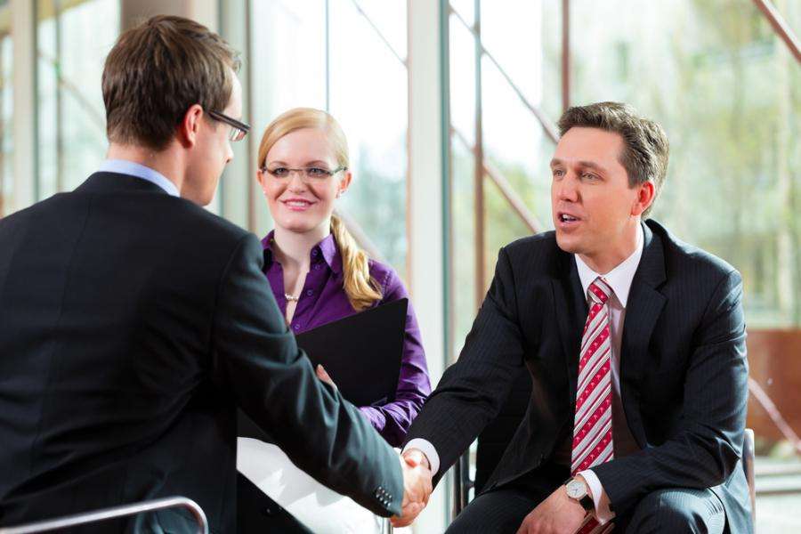 biznes, praca, rozmowa