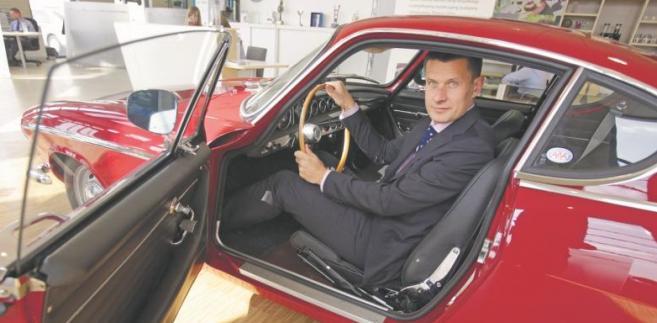Arkadiusz Nowiński, prezes Volvo Polska fot. Grzegorz Kawecki