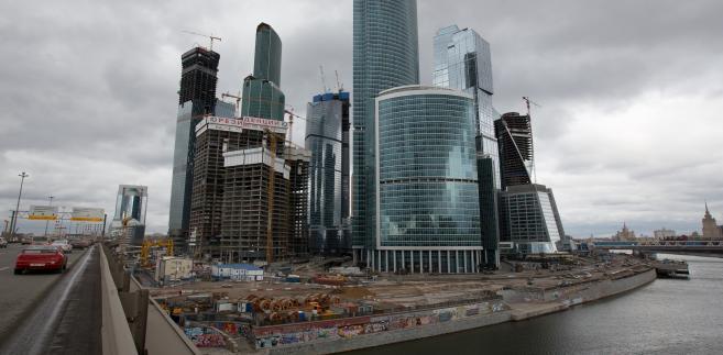 Miedzynarodowe centrum finansowe, Moskwa, 16.04.2014