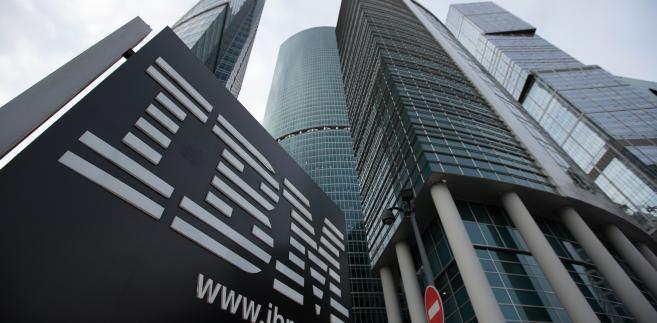 Siedziba IBM w Moskwie, 16.04.2014
