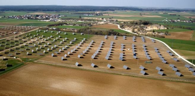 Elektrownia słoneczna w Niemczech