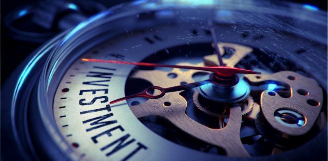 Zegar, inwestor, pieniądze