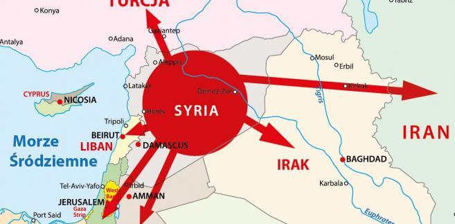 Punkt zapalny: Syria