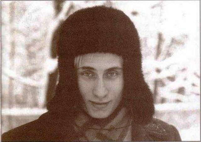 Młody Władimir Putin