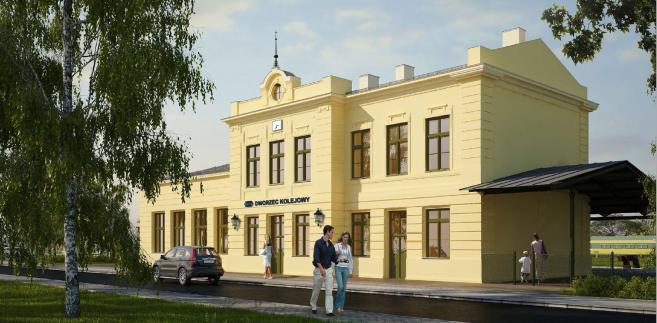 Dworzec w Wieliczce