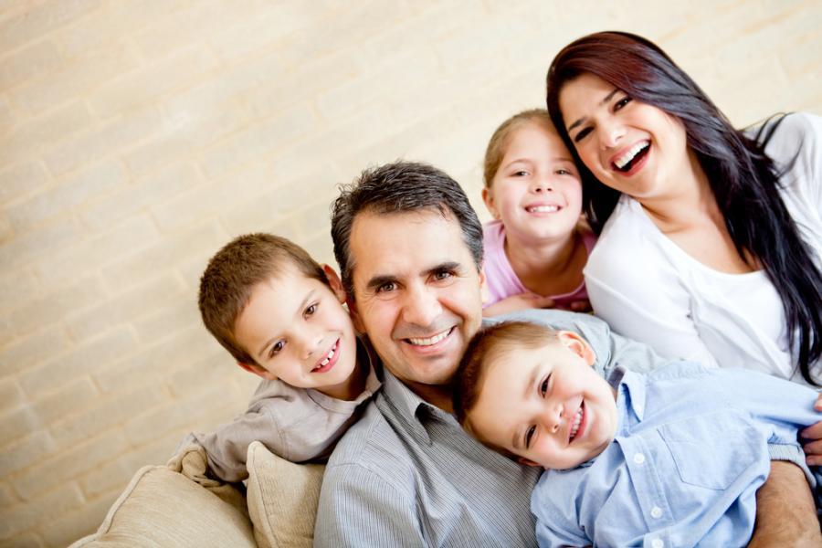 rodzina dzieci