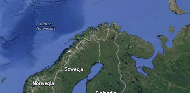 Morze Barentsa, źródło: Google Maps