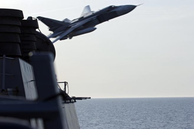Incydent na morzu Bałtyckim. Su-24 przeleciał w odległości 9 metrów od USS Donald Cook