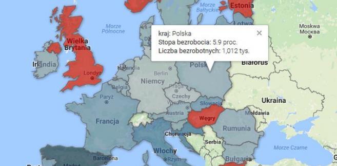 bezrobocie w Europie 12-2016.jpg