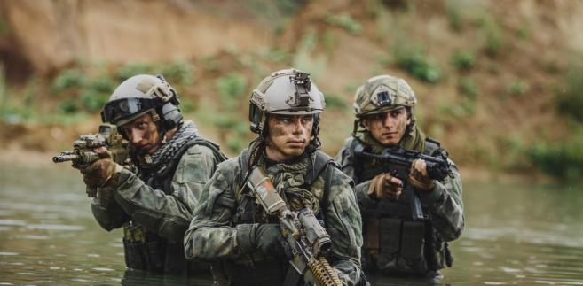 wojsko żołnierz komandos