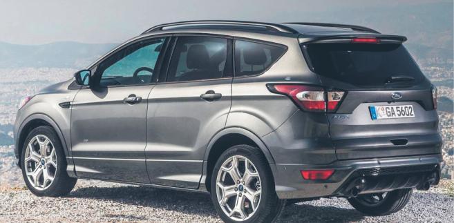 Ford Kuga fot. materiały prasowe