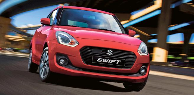 Suzuki Swift fot. materiały prasowe