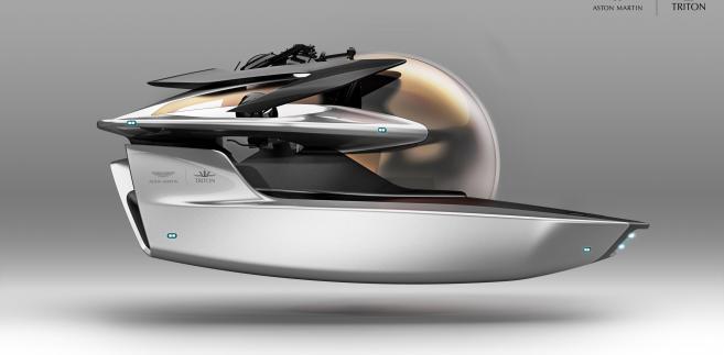 Project Neptune - łódź podwodna Aston Martin
