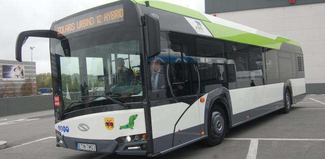 Autobus solaris-hybrid