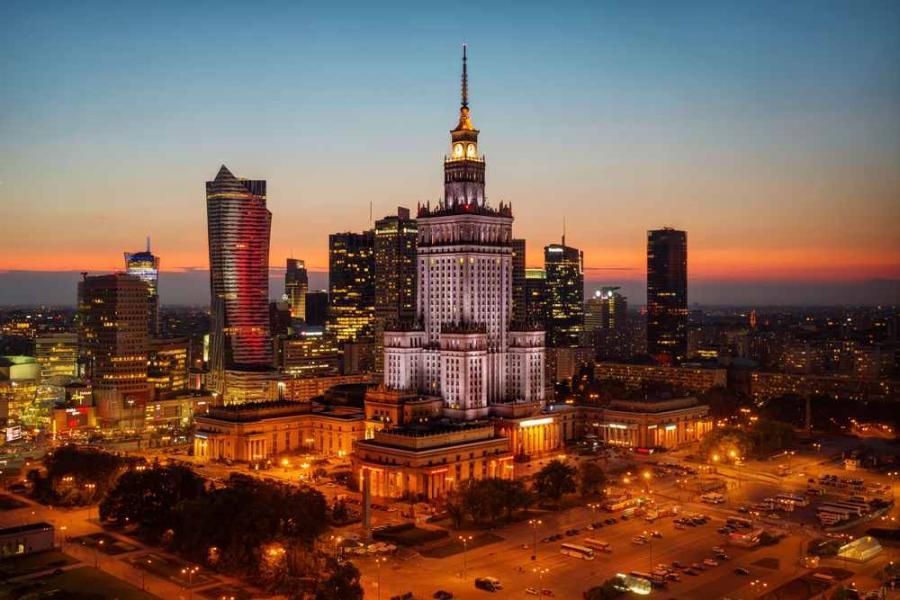 Warszawa, Lukas Bischoff Photograph