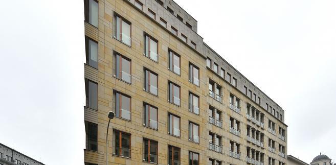 Sidziba PAP, Biurowiec Liberty Corner na rogu ulic Mysiej i Brackiej w Warszawie, Fot. Adrian Grycuk