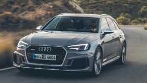 Audi RS4 i A8 50TDI