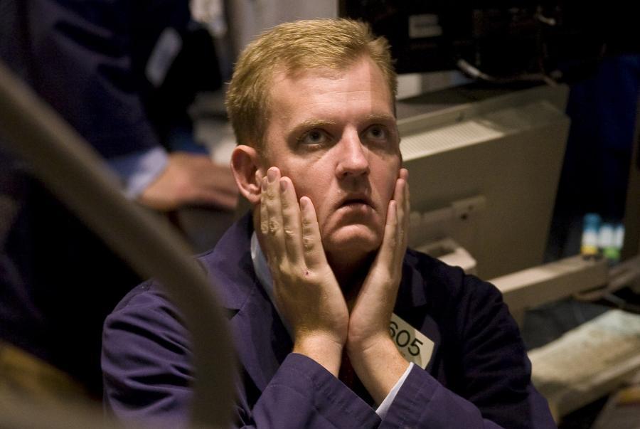 Maklerzy nie wierza własnym oczom. Fot. Bloomberg