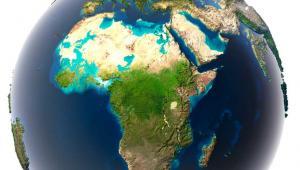 Afryka, mapa Fot. Shutterstock
