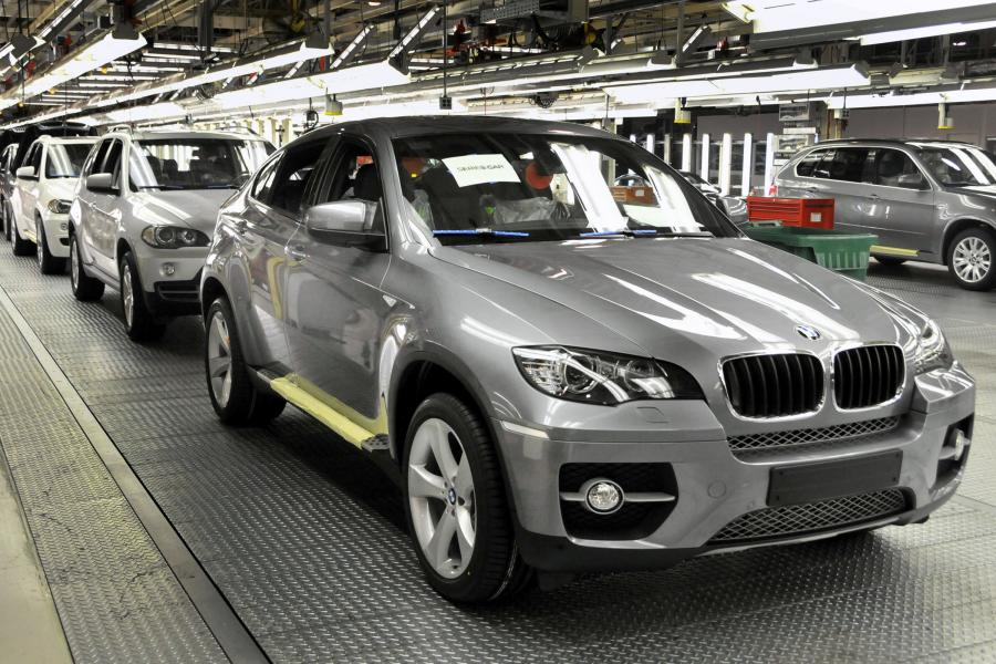 BMW X6 - linia produkcyjna