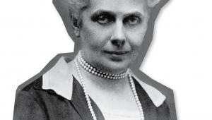 Gabriela Balicka-Iwanowska, w 1919 r. jako jedna z pierwszych posłanek zasiadła w Sejmie Ustawodawczym fot. NAC