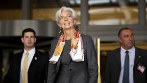 Christine Lagarde, nowa szefowa MFW