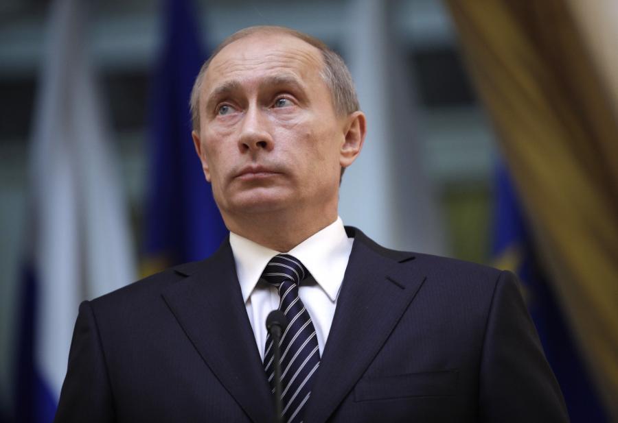 Premier Rosji Władimir Putin, fot. Bloomberg
