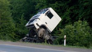 wypadek, ciężarówka