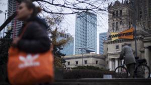 Warszawa.  Fot. Bartek Sadowski/Bloomberg