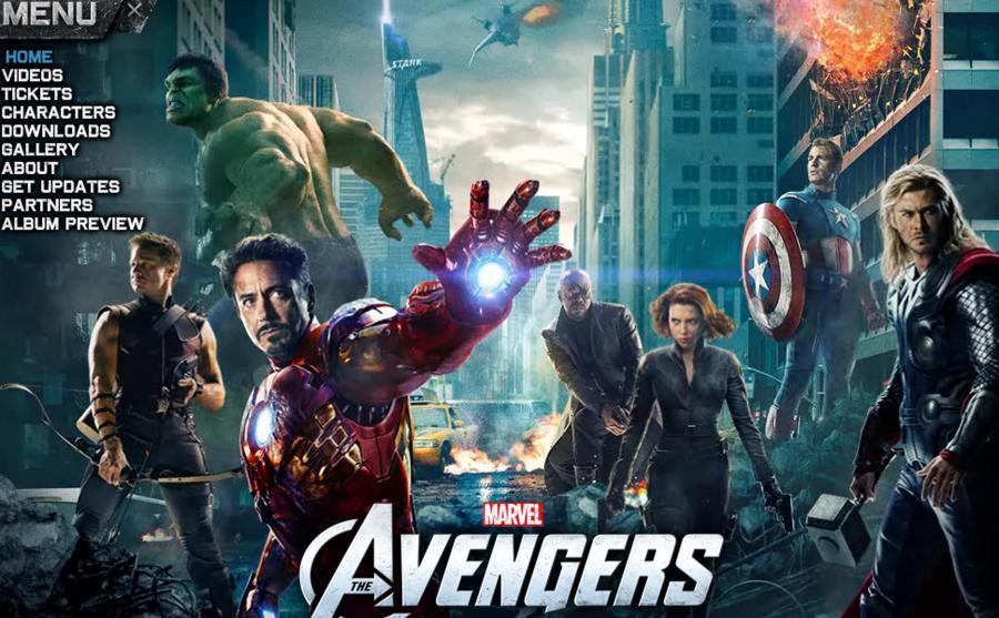 Avengers - plakat