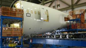 Drugi Boeing 787 Dreamliner LOT-u na linii produkcyjnej (3)