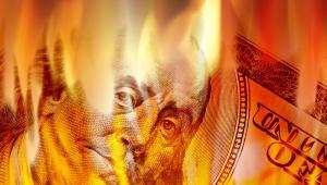 Dolar, USA, kryzys