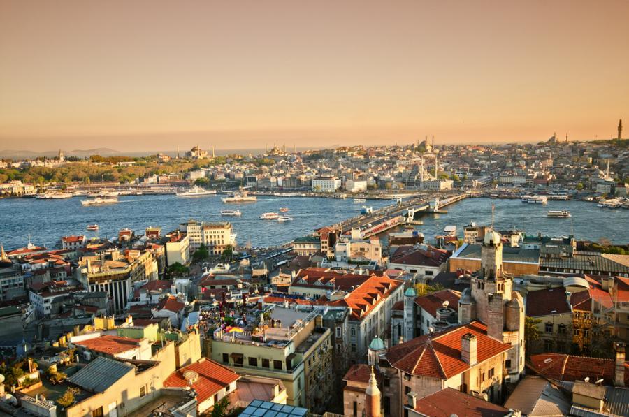 Panorama Istambułu